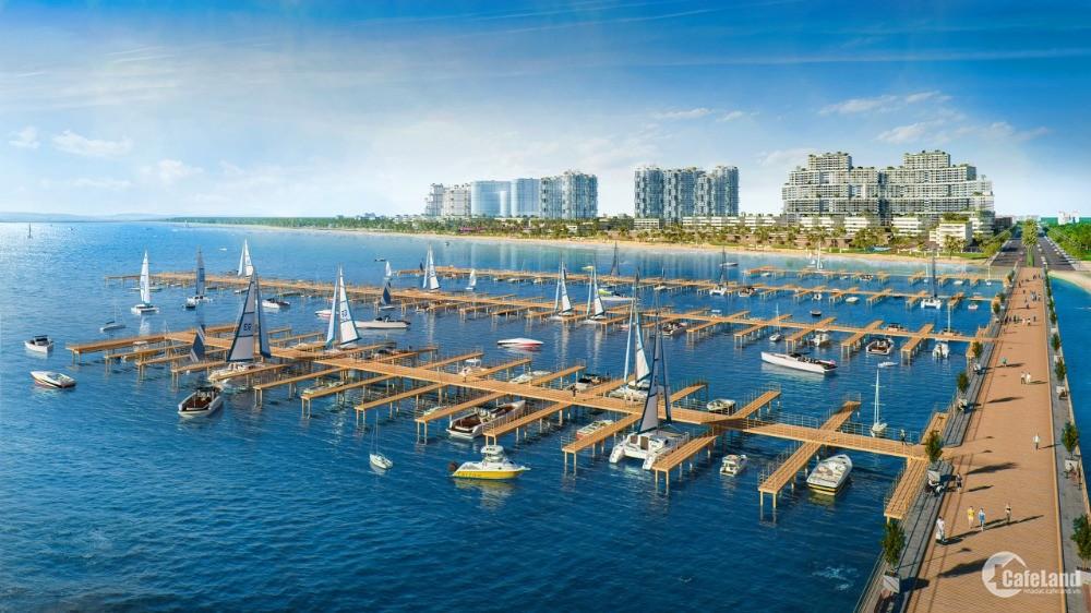 Bán nhà phố vườn và shophouse biển 2 mặt tiền có hồ bơi riêng tại Thanh Long Bay