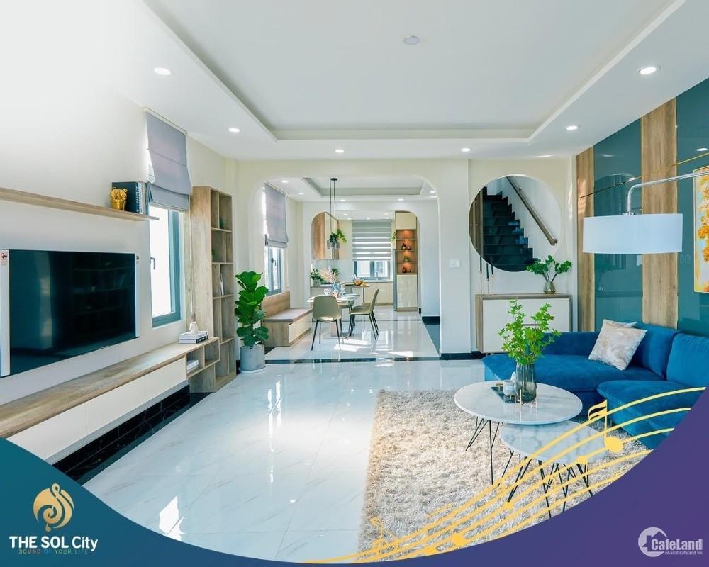 20 xuất nội bộ chỉ 900tr sở hữu căn nhà 150m2 dự án The Sol City