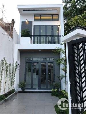 Bán nhà phố 100m2 1 triệt 1 lầu xã An Phú Tây, Bình Chánh, sổ hồng riêng