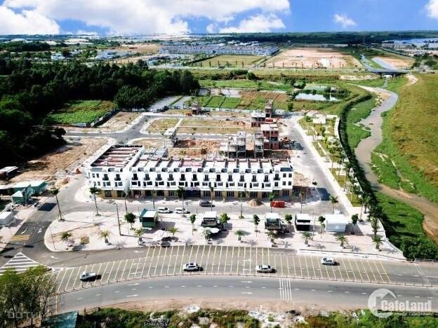 Lô góc 122,5m2 full thổ cư tại Phú Chánh. Tặng kèm giấy phép xây dựng