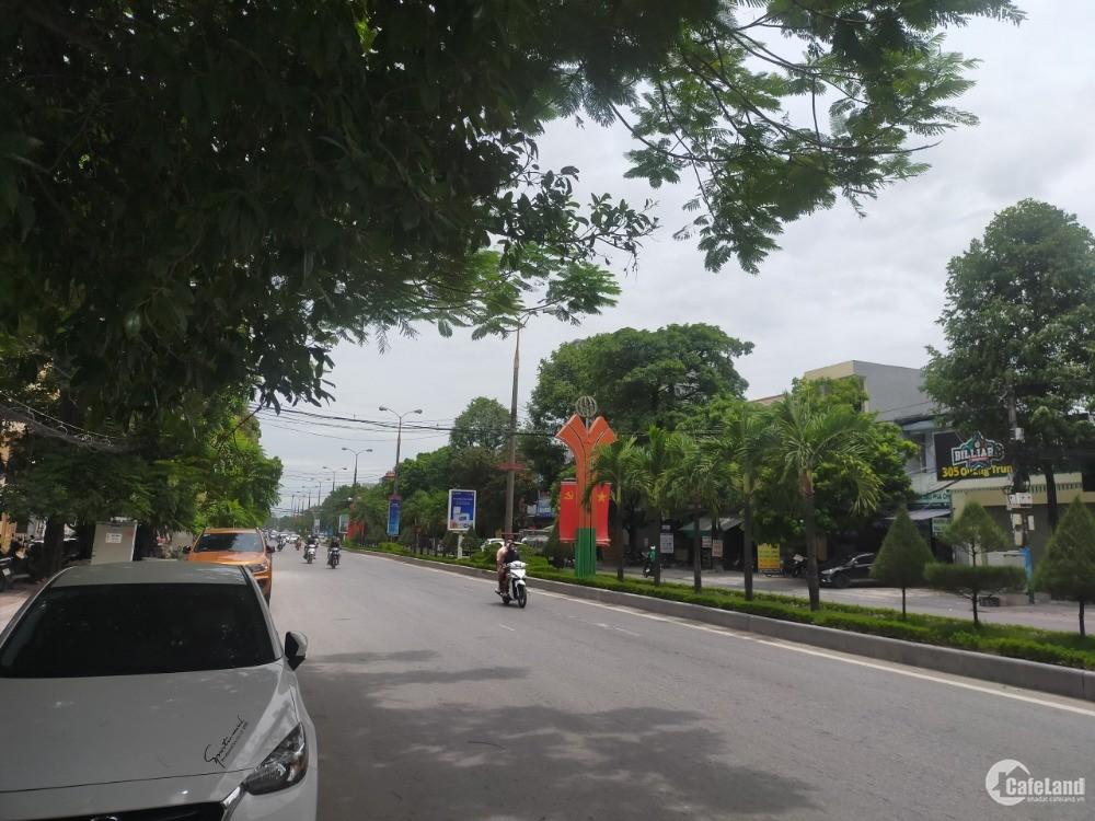 Bán nhà 2 tầng mặt Phố Quang Trung, Phường Đông Vệ 107.3m2, mặt tiền 5.8m