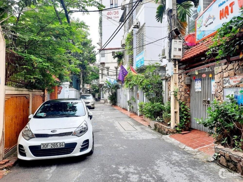 Nhà ô tô tránh, kinh doanh 64m2 Đào Tấn, 4 tầng, 17.5 Tỷ Ba Đình