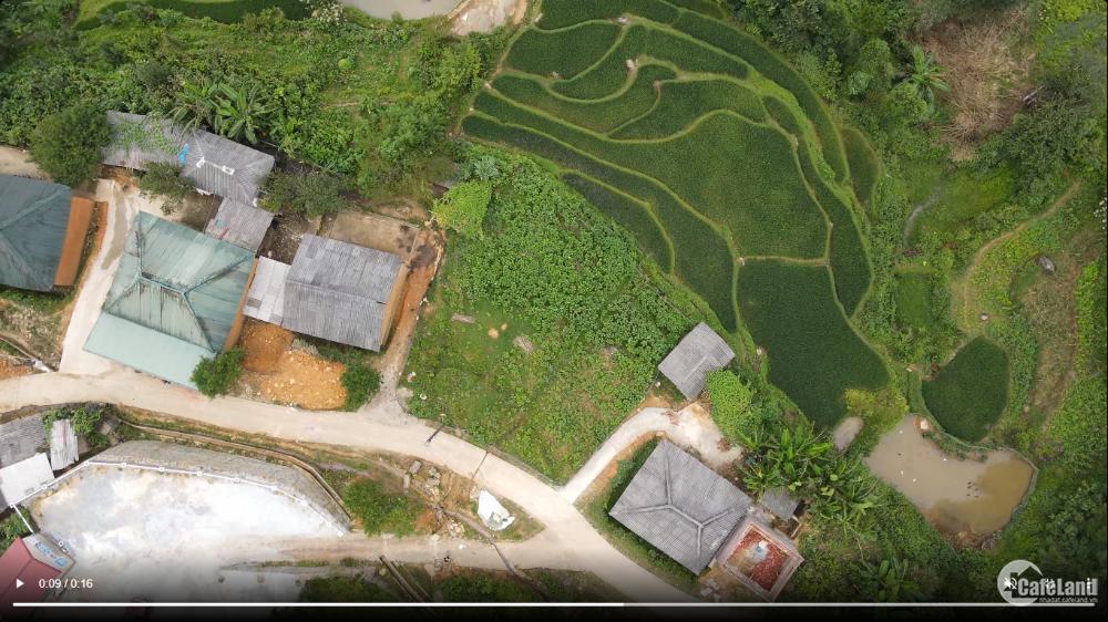 Bán mảnh đất thôn Sín Chải, Y Tý view đẹp mặt đường liên thôn 13m