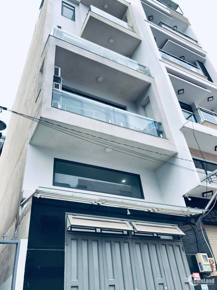 Hẻm nhựa 8m phường Tân Quý, 4.7 x 19.3 (91m2), được xây 6 tầng, giá 7 tỷ..X
