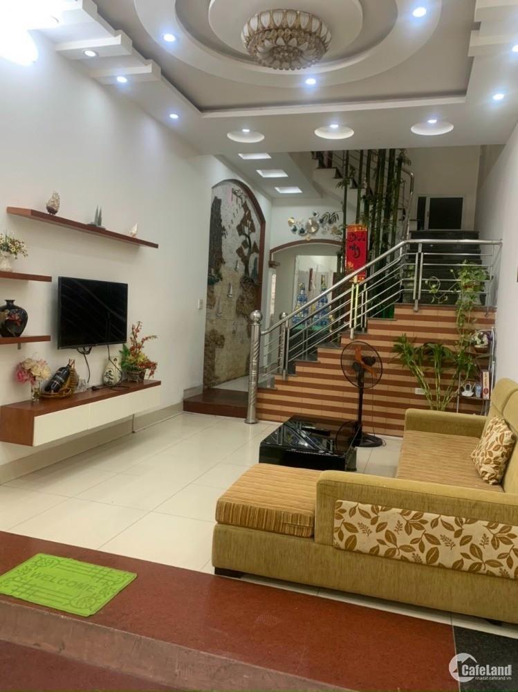 Bán nhà 5 tầng đường nhánh Thanh Bình, HD 5 tầng, 70m2 mt 4m, đường 16m, 5 ngủ,