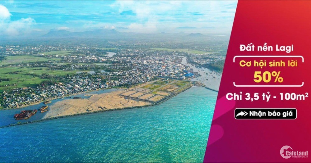 (Hot) Nhận Booking ưu tiên dự án lấn biển Lagi New City, Bình thuận.