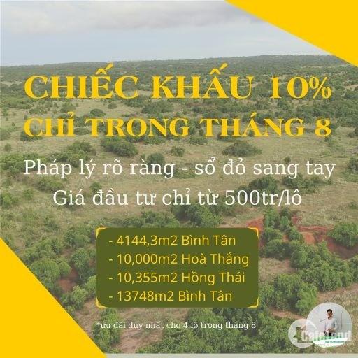 Đất Nông Nghiệp Bình Thuận Giá Rẻ Từ 85km2