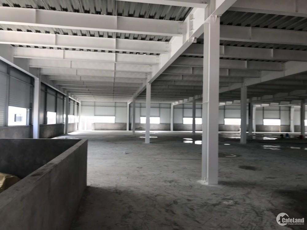 Cho thuê xưởng 4000m2 KCN Đại Đồng, xưởng 2 tầng xây mới. Giá 3.4$/m2 chưa VAT.
