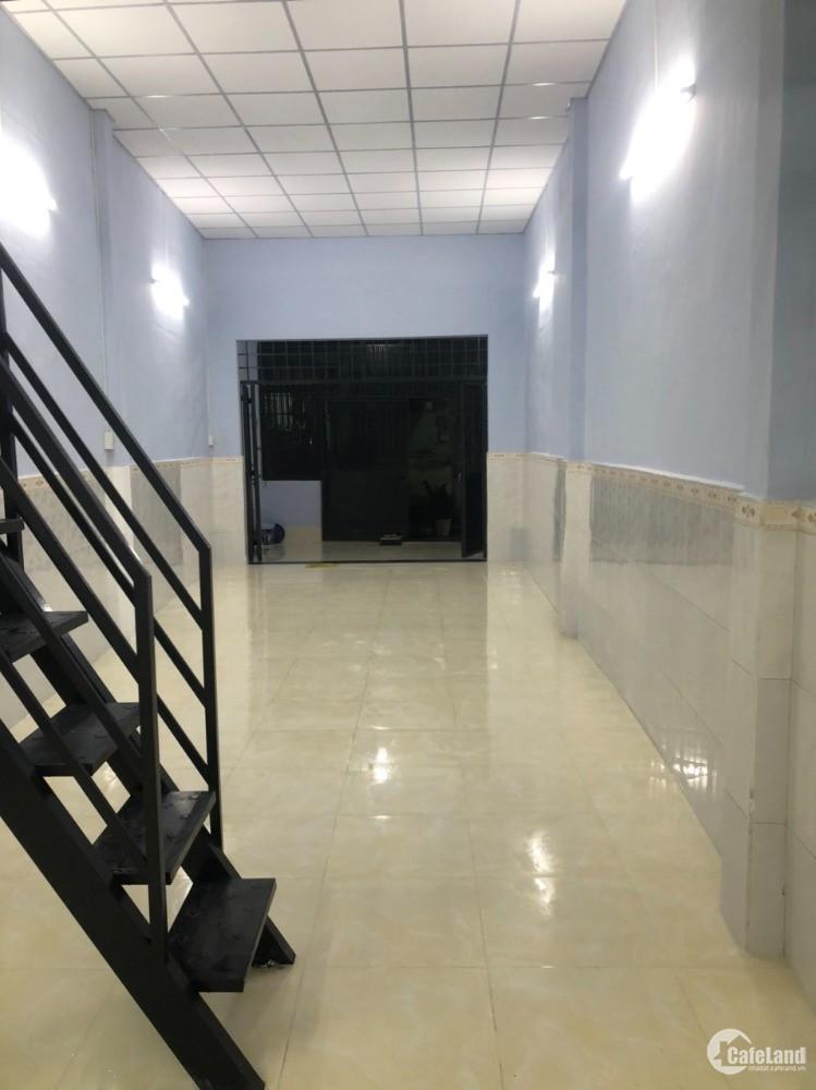 Cho thuê nhà hẻm Quang Trung, P10, Gò Vấp, 4x15m, 1 trệt, 1 lửng, 6 triệu/tháng