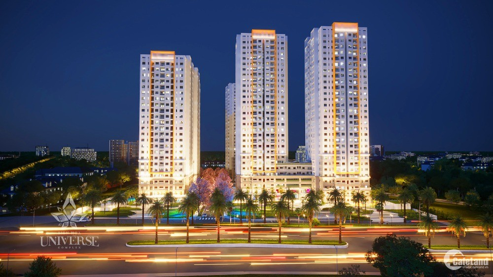 Sở hữu căn hộ cao cấp bậc nhất tại TP Biên Hòa chỉ với 350tr, CK 5%
