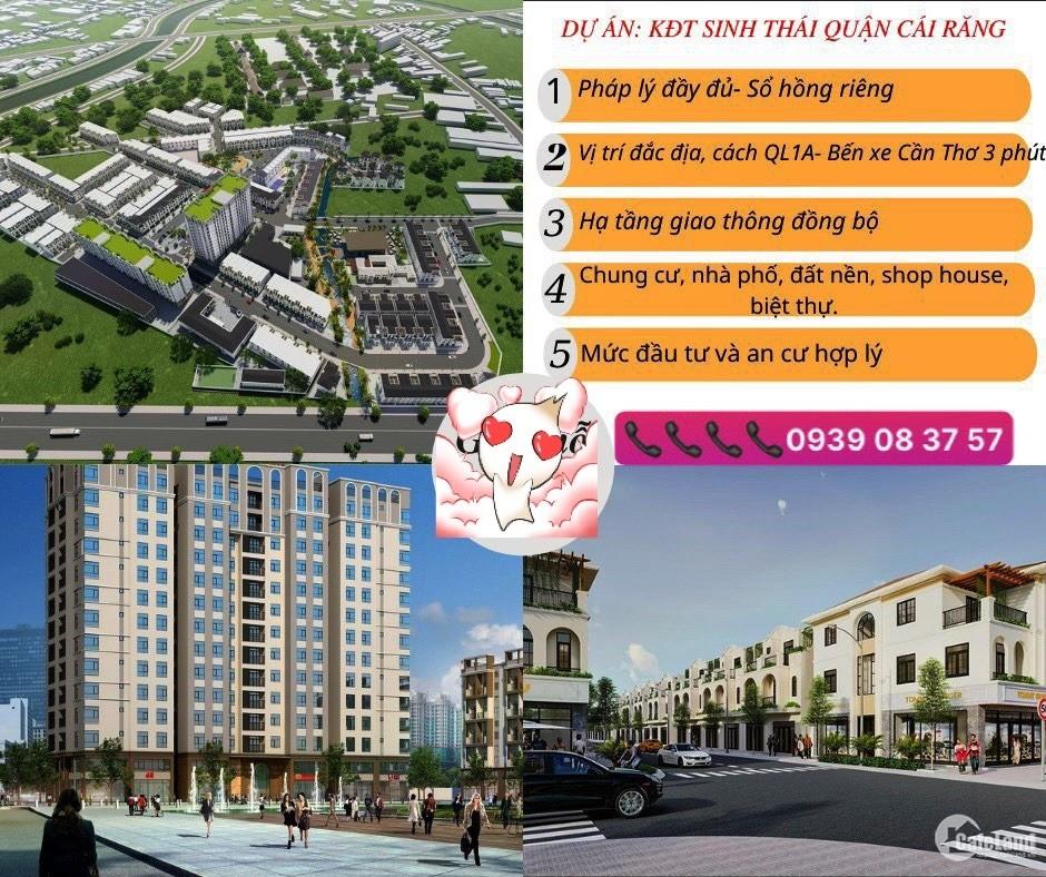 Ra mắt dự án Khu đô thị Sinh Thái tại quận Cái Răng - Cần Thơ