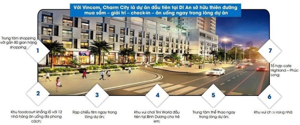 Tại Trung Tâm Dĩ An đã chính thức ra mắt căn hộ cao cấp Charm Diamond
