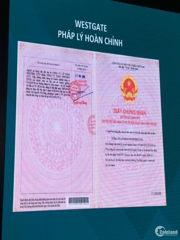 Căn hộ Tp Hồ Chí Minh với chỉ 660 triệu ưu đãi khủng mùa dịch tại Westgate