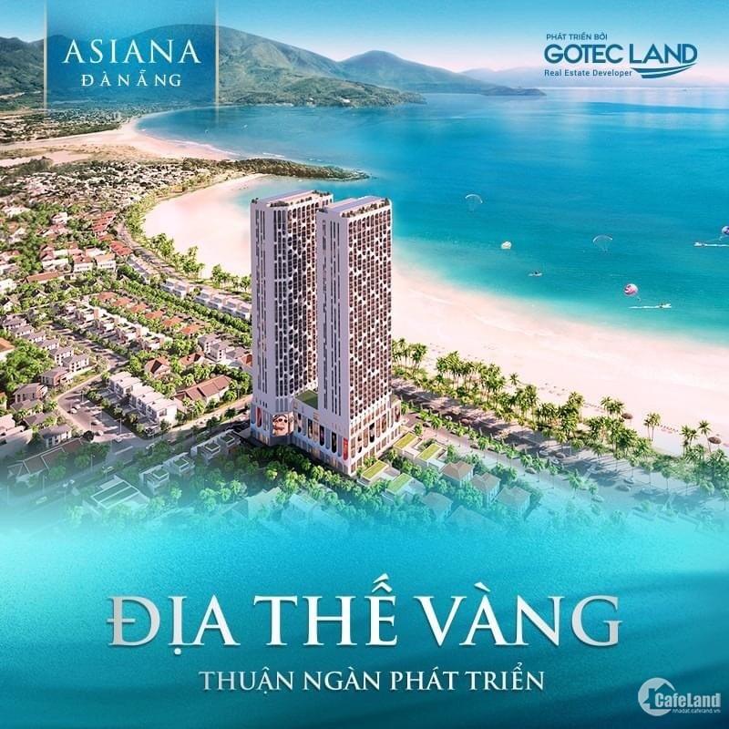 Căn hộ cao cấp 99% căn view biển Asiana Đà Nẵng, sở hữu lâu dài, CK 9%