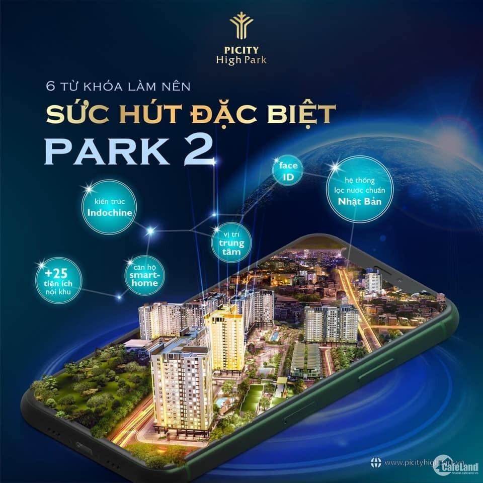 Mở bán tầng 12 Picity High Park, mua căn hộ thông minh tiết kiệm gần 200 triệu