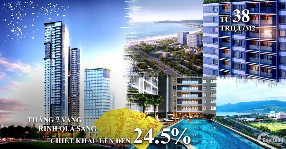 Căn hộ Grand Center còn 20 căn chiết khấu 24% giảm giá đến 800 triêu/1 căn