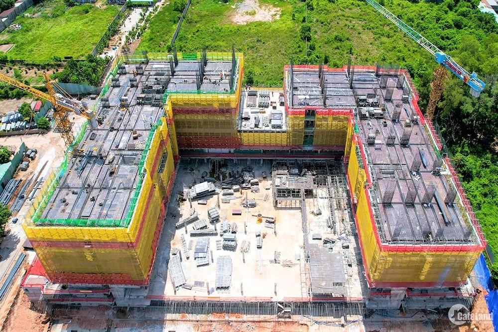 Tiến độ thi công Lavita Thuận An mới nhất, căn hộ mặt tiền Đại lộ Bình Dương