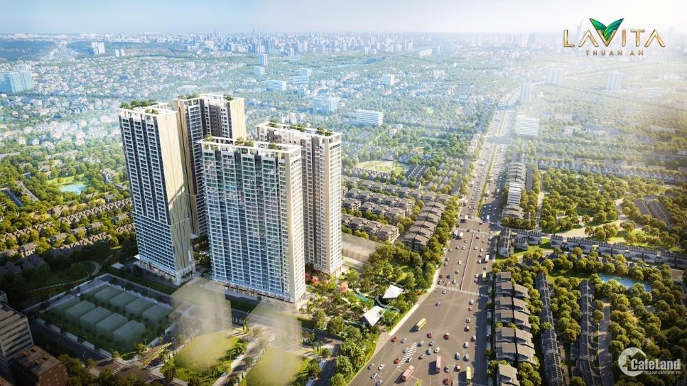 Shophouse Lavita Thuận An ở mặt tiền Quốc lộ 13, CĐT Hưng Thịnh, cư dân đông
