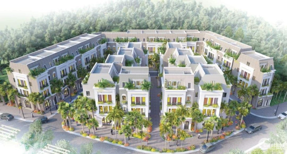 Khu nhà phố thương mại cao cấp Đồng Đăng