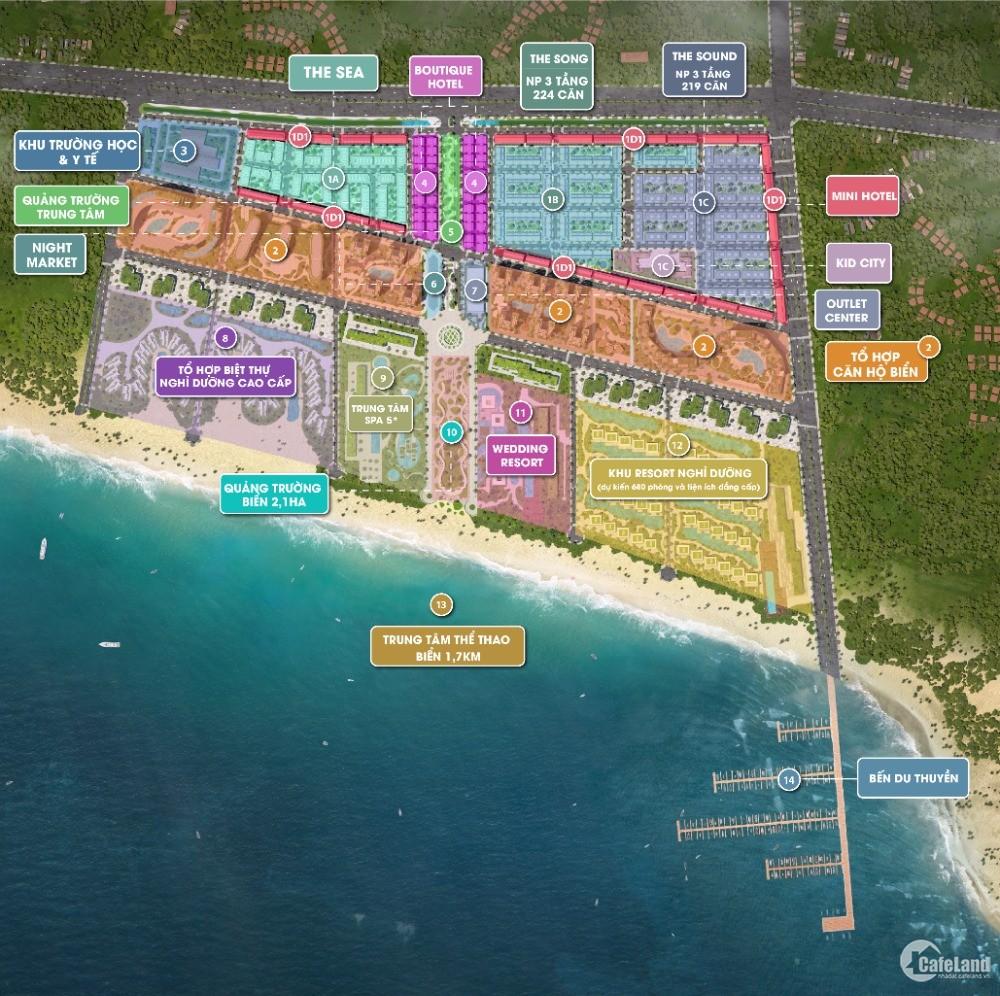 Nhà phố Thanh Long Bay cam kết mua lại LN 6%/năm sổ đỏ lâu dài
