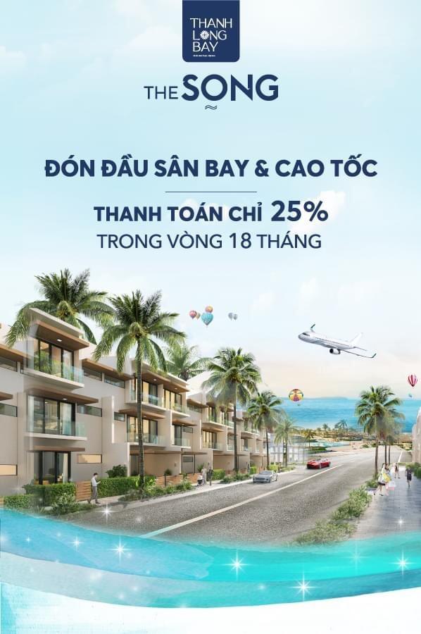 The Song nhà Vườn Biệt Thự Lam, chỉ cần thanh toán trước 1,8 tỷ