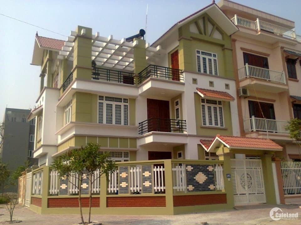 Bán nhà vườn KĐT Tuệ Tĩnh, TP HD, 150m2, lô góc 2 mặt tiền, 3 tầng, 4 ngủ, vị tr