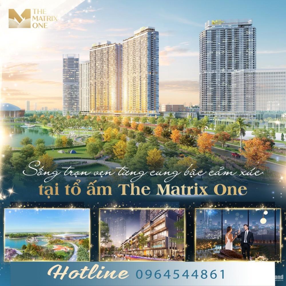 The Matrix One Mễ Trì 2PN 87m2 thanh toán 450tr ký ngay HĐMB, hỗ trợ 30 tháng