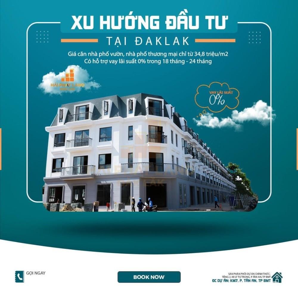 Căn ML15 chính chủ dự án Ecocity Buôn Ma Thuột giá tốt cho nhà đầu tư