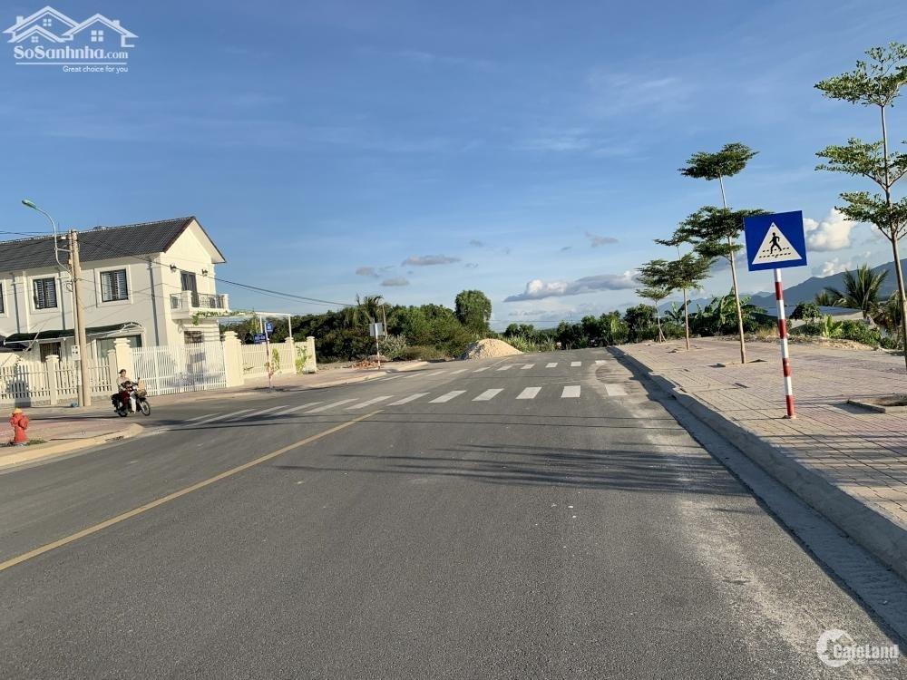 Bán đất Tái Định Cư K8,full thổ cư,mặt tiền đường Tây Bán Đảo(QH 30m) Cam Lâm KH