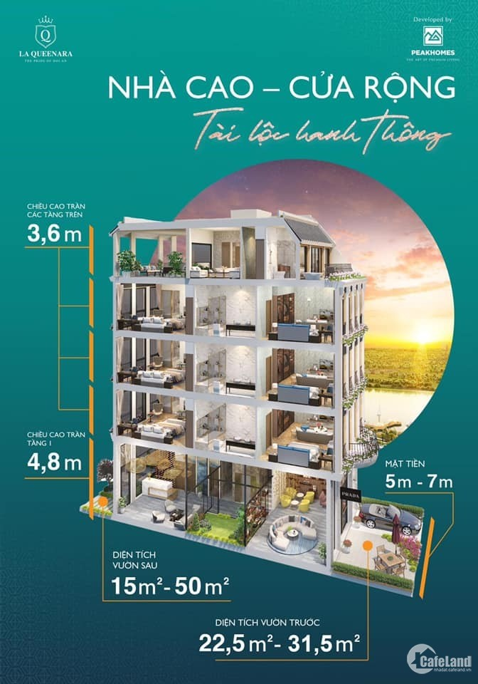 Bán nhà phố 5 Tầng 7x20 19 phòng ngay Biển An Bàng Hội An- DIV Group