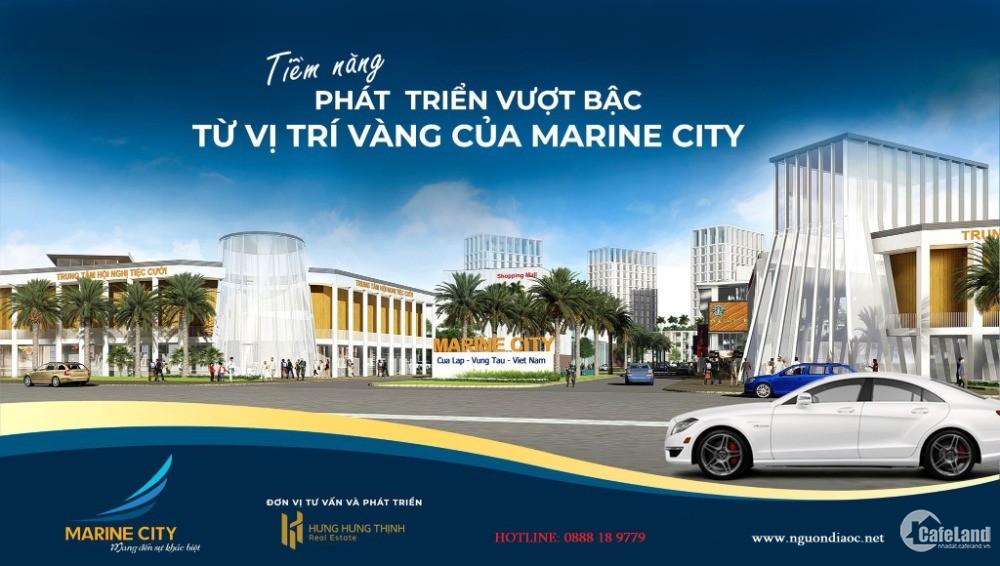 Vietcombank hổ trợ cho vay mua Marine City đến 100%, thòi hạn 20 năm