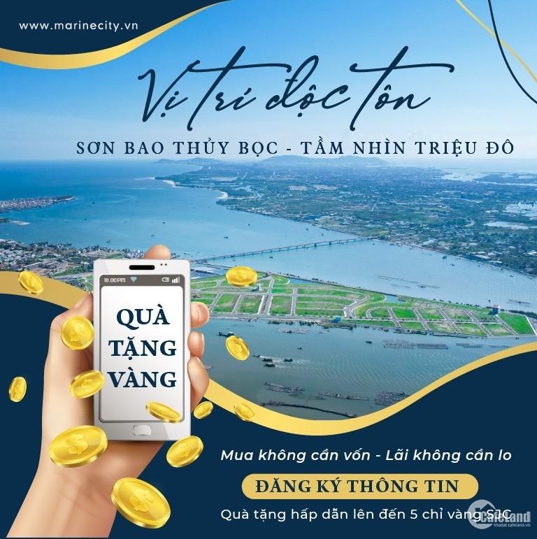Booking Marine City 0 đồng, nhận quà tặng lên đến 10 chỉ vàng 9999