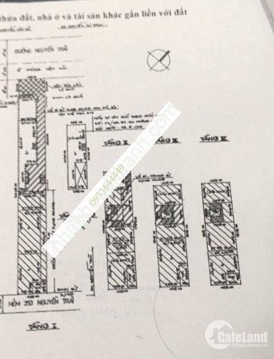 Bán nhà 363 NGUYỄN TRÃI, P Phạm Ngũ Lão, Quận 1, 37.1m2, 15 tỷ - 0933644449