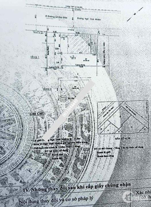 Bán Nhà 15 - 17 NGÔ THỜI NHIỆM, P 6, Quận 3, 302m2, 200 tỷ - 0933644449