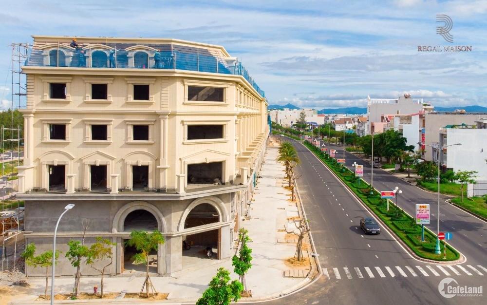 Shophouse trung tâm Tuy Hòa 1,177m2, thanh toán 20%/năm, đặt chỗ 100tr