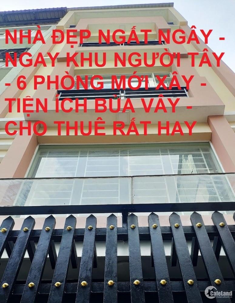 Bán nhà 5 tầng 6PN cho thuê Nguyễn Trãi Quận 1 50m2 giá rẻ chỉ 12.5 tỷ