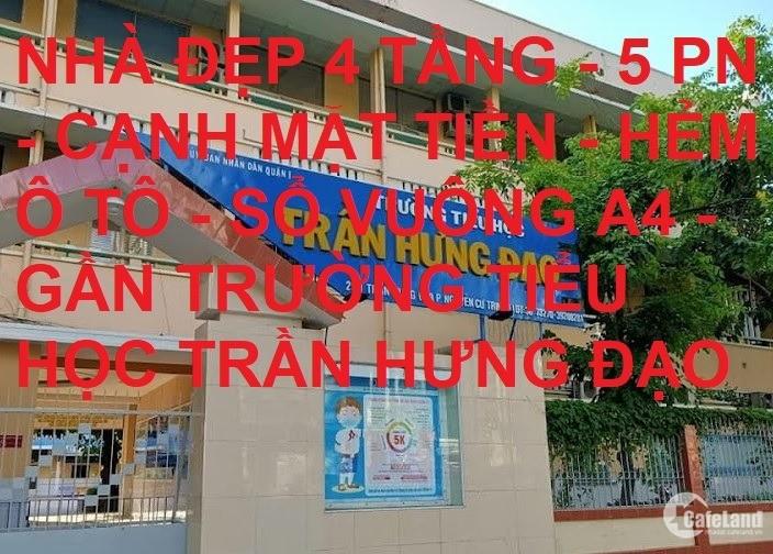 Bán nhà hẻm xe hơi sát MT Trần Hưng Đạo Quận 1 56m2 giá rẻ chỉ 15.5 tỷ