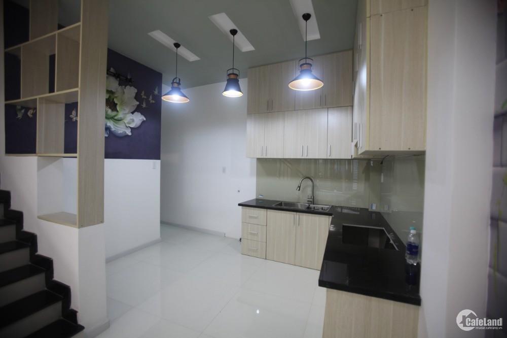 Nhà 3 tầng cực đẹp Phạm Văn Chiêu,P.14: HXH,ngang 5.4m,giá mùa dịch.