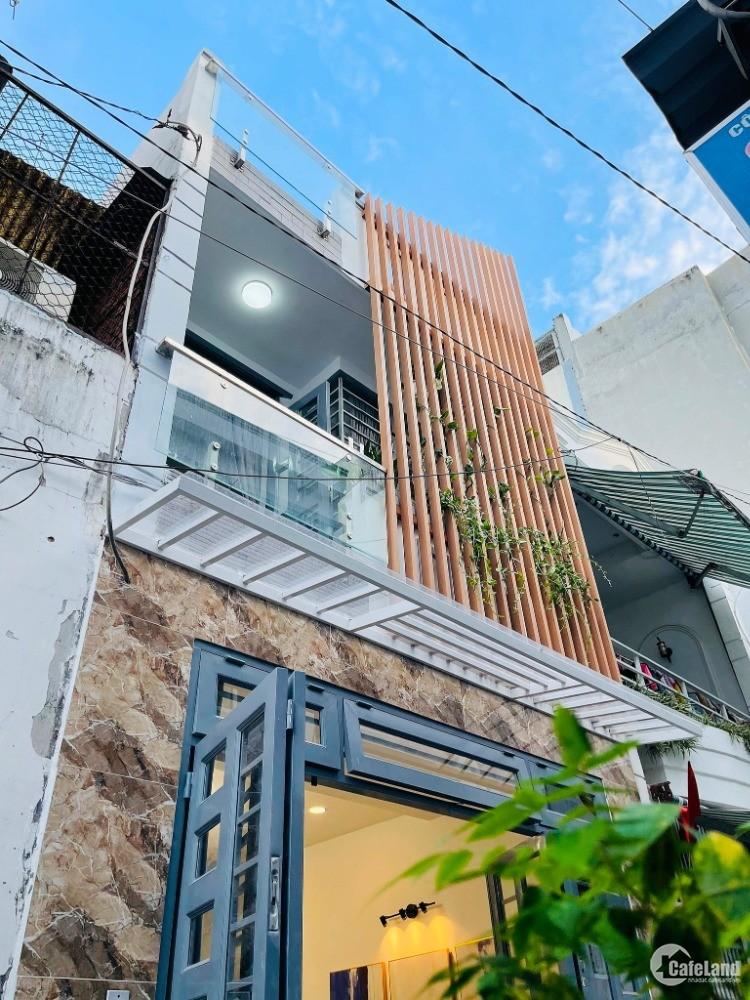 Nhà 2 tầng quá đẹp,HXH,full nội thất Lê Văn Thọ,P.9,GV:44m2 giá mùa dịch.