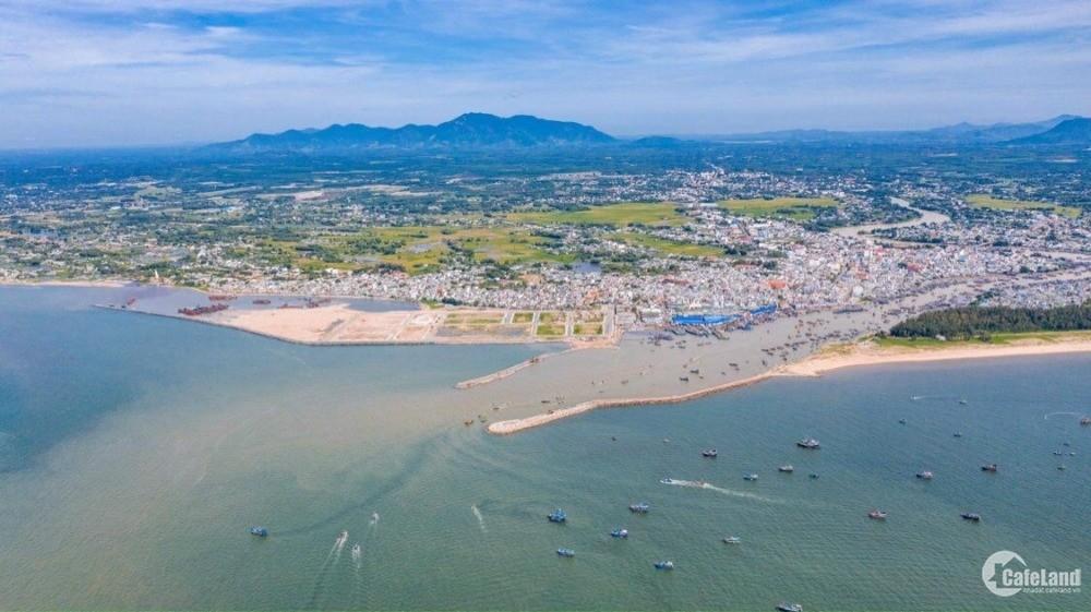 Đất nền sổ đỏ 2 mặt tiền biển, liền kề cao tốc, sân bay Phan Thiết.