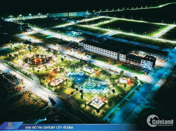 SINH LỜI KHỦNG VỚI ĐẤT NỀN DỰ ÁN CENTURY CITY ,17TR/M2 SINH LỜI 18%/NĂM