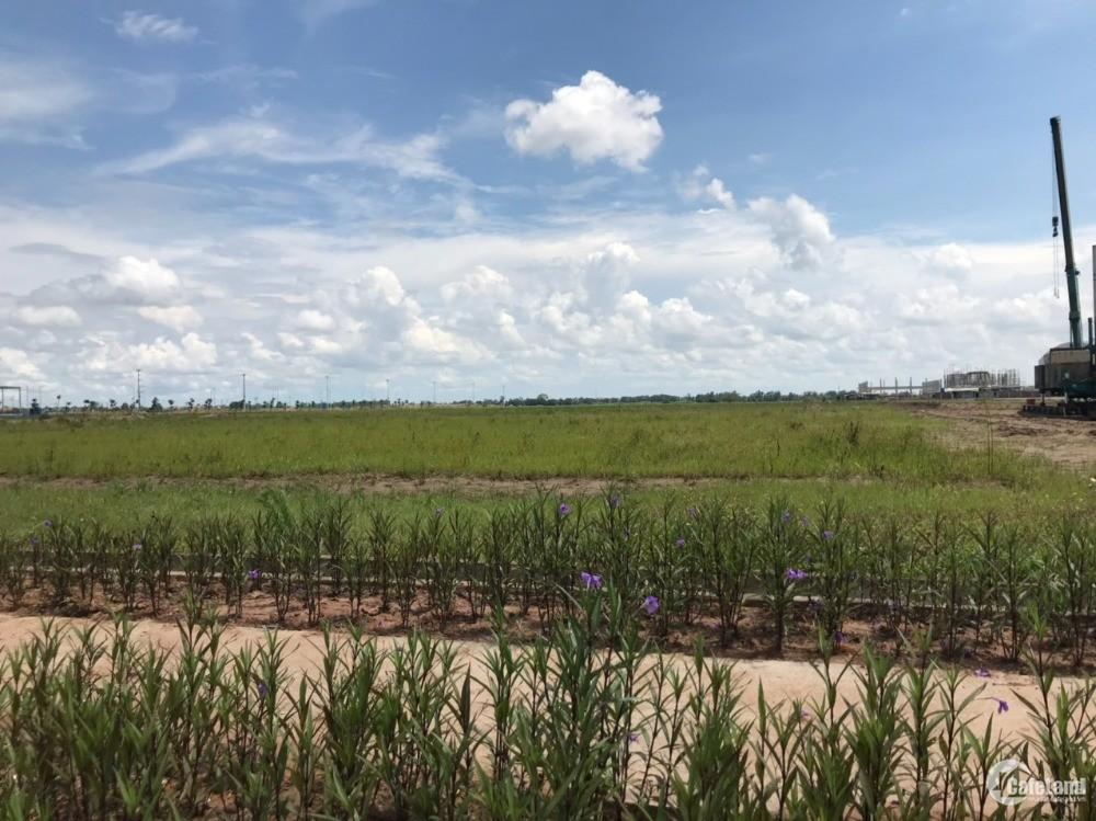 Lô đất 1.2ha tại KCN Yên Mỹ, mặt tiền 99.11m, mua trực tiếp CĐT. Lh 0988 457 392
