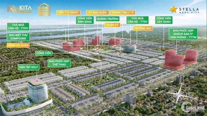 Stella Mega City Bình Thủy Cần Thơ giá chỉ từ 25 tr/m2