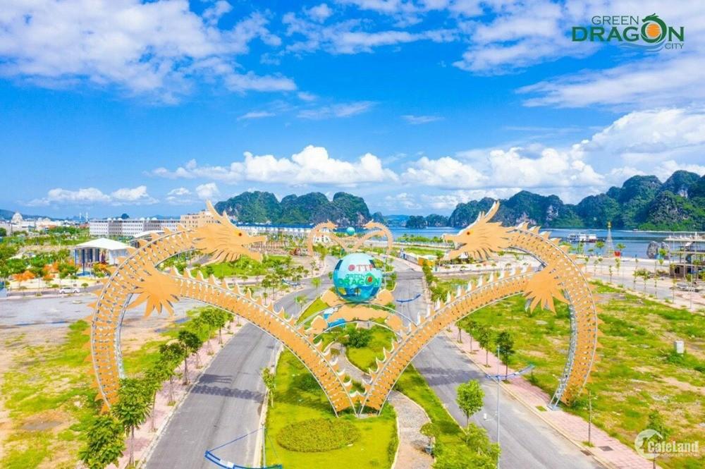 Rẻ nhất! Cần bán lô đất nền ven biển SH33 7,8 sát cổng chính dự án Green Dragon