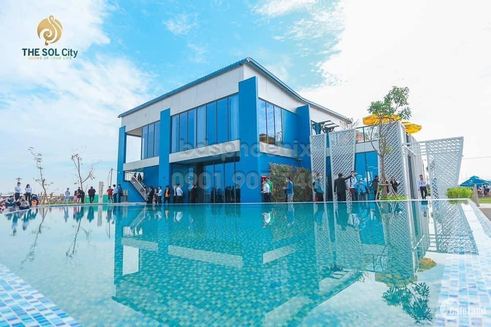 Chính chủ đầu tư cần bán lô đất nền dự án The Sol City 100m2 giá 2,6tỷ bao GPXD