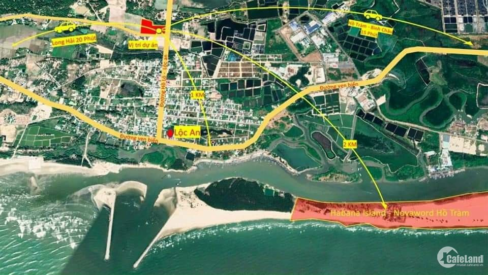 Đất ven biển Vũng Tàu. Cơ hội KD nghỉ dưỡng lợi nhanh và lãi cao.