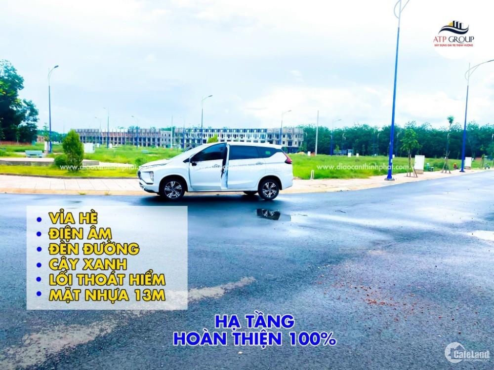 Đất giáp quốc lộ 13 đối diện chợ trừ văn thố 80m/full - SHR