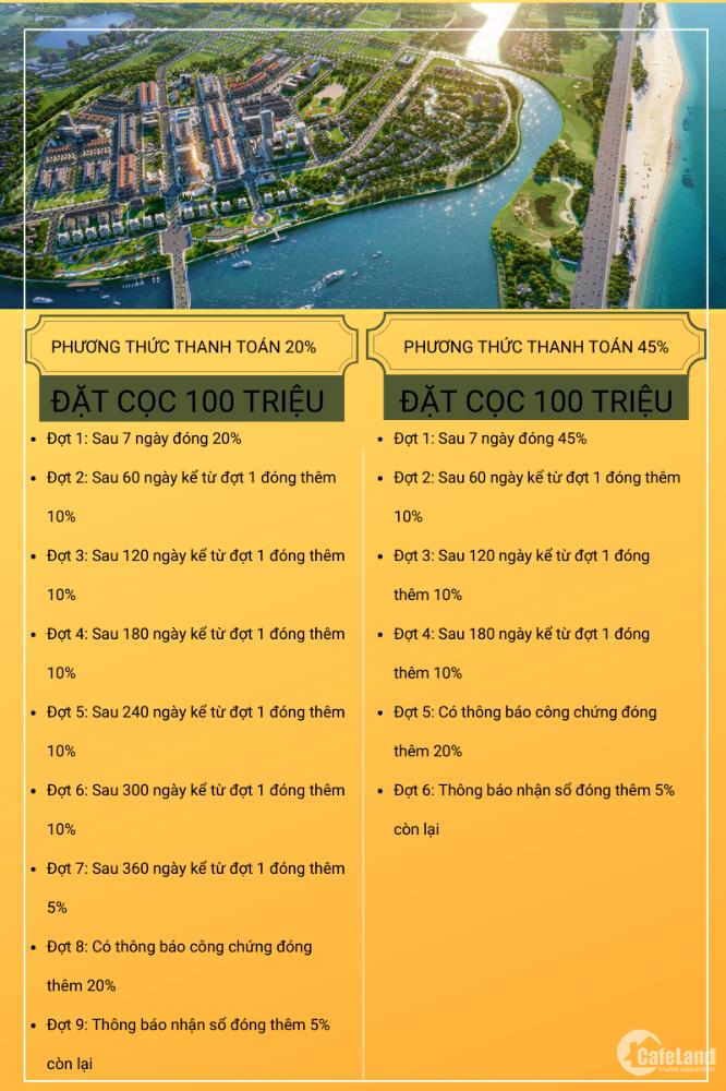 Khu đô thị ven sông Cổ Cò phía Nam Đà Nẵng