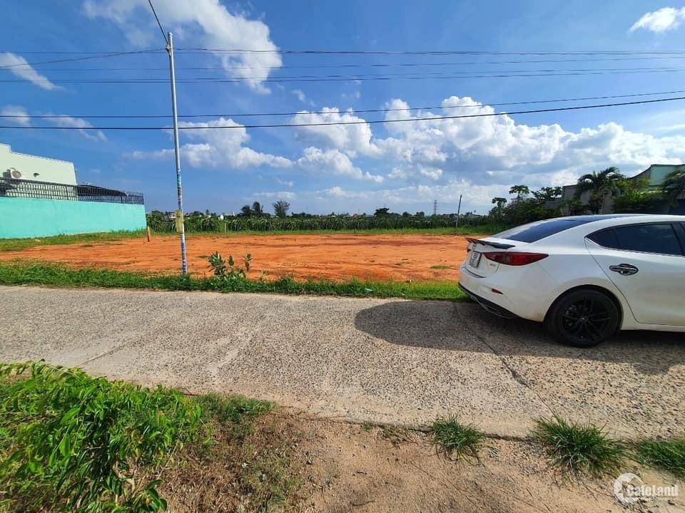 Bán nhanh 4 lô thổ cư mặt tiền đường nhựa tại km6, Hàm Liêm