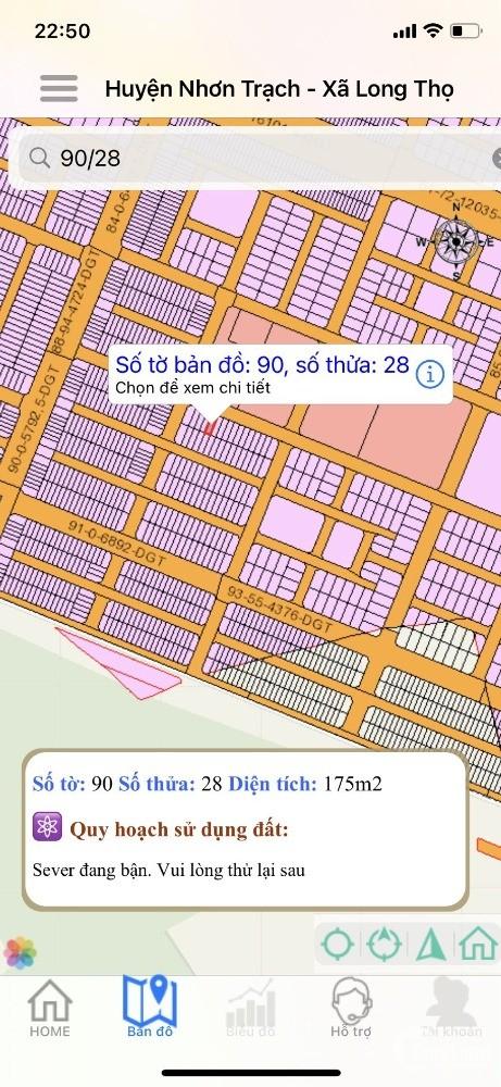Hud Nhơn Trạch, 175m2, đối diện nhiều tiện ích, sổ hồng
